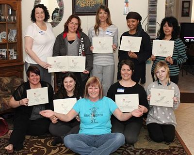 Another great Reiki class with Reiki Master instuctor Eileen at Anne Penman Reiki Las Vegas the Reiki Hut