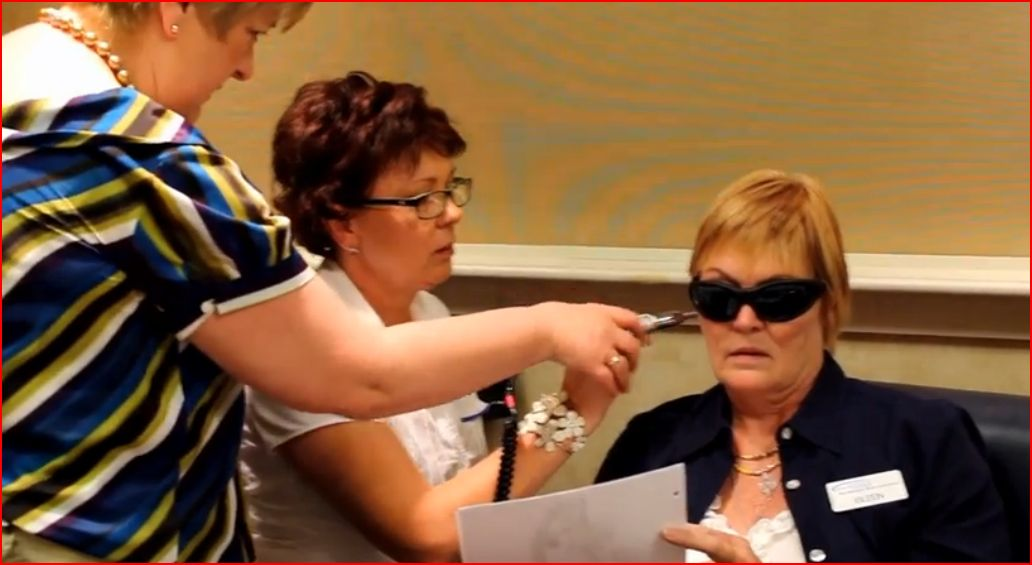 Eileen Training and Teaching Low Level Laser Therapy