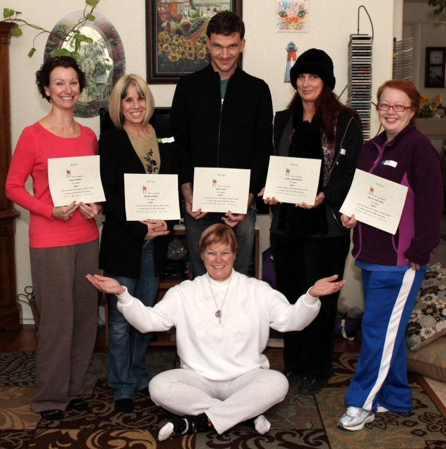 Reiki 1 Certification Class with Reiki Master Eileen in Las Vegas 2013