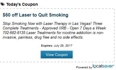 Laser Treatment to Quit Smoking Las Vegas, Nevada