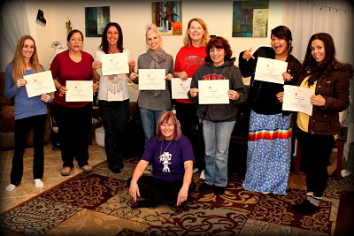 Reiki Certification Class at Anne Penman Reiki Las Vegas with Reiki Master Eileen. Prepare youself for a wonderful day!